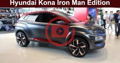 Видео Hyundai Kona Iron man edition (Железный человек)