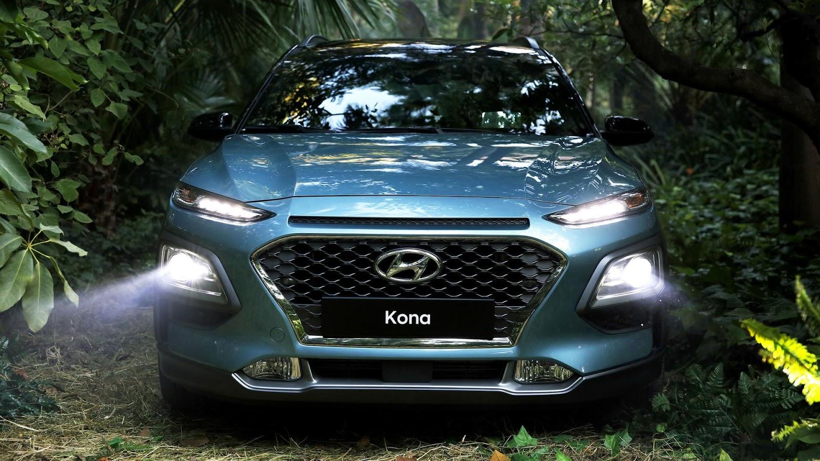 Мировая премьера кроссовера Hyundai Kona