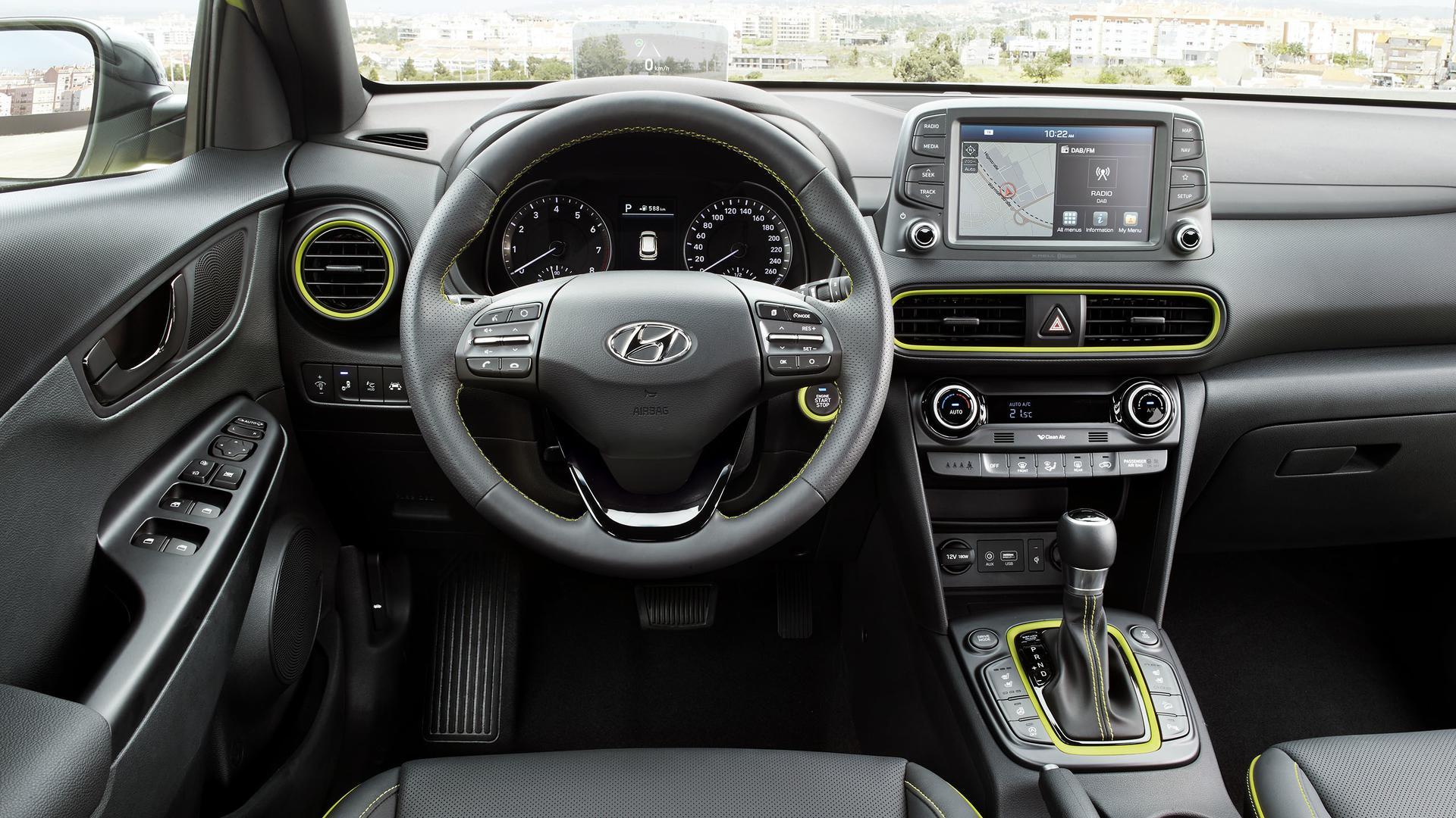 Hyundai Kona - первый отзыв и обзор
