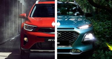 Сравнение Hyundai Kona и Kia Stonic