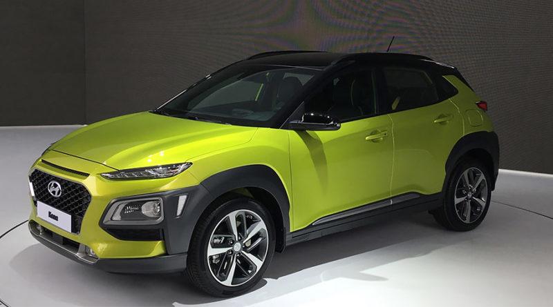 Hyundai представил Kona во Франкфурте