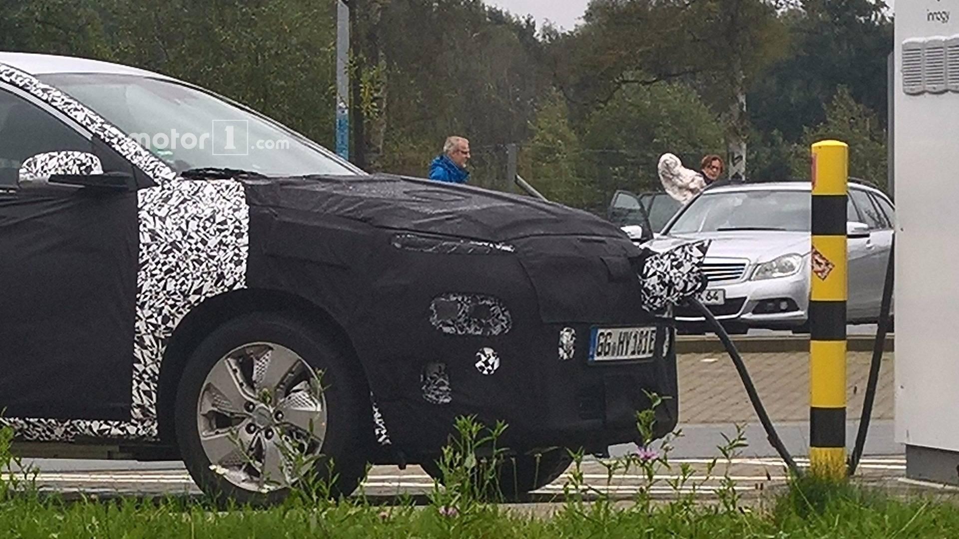 Hyundai kona EV электрическая версия