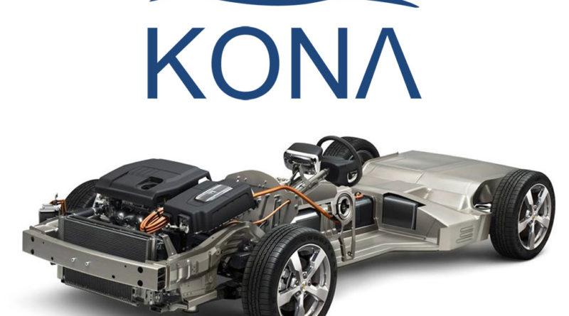 Электромобиль Hyundai Kona