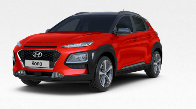 Hyundai Kona поступила в продажу в Израиле