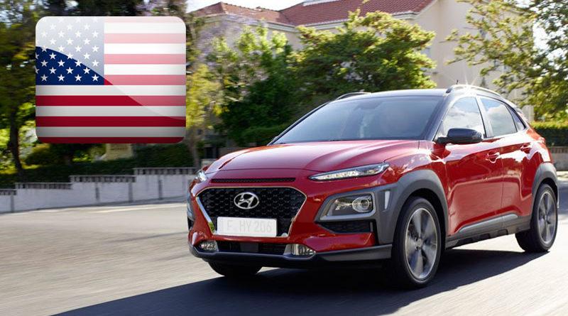Hyundai Kona цена в США