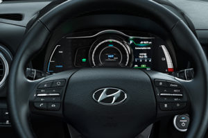 Hyundai Kona Electric салон
