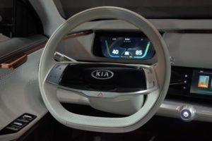 KIA Niro EV concept interrior