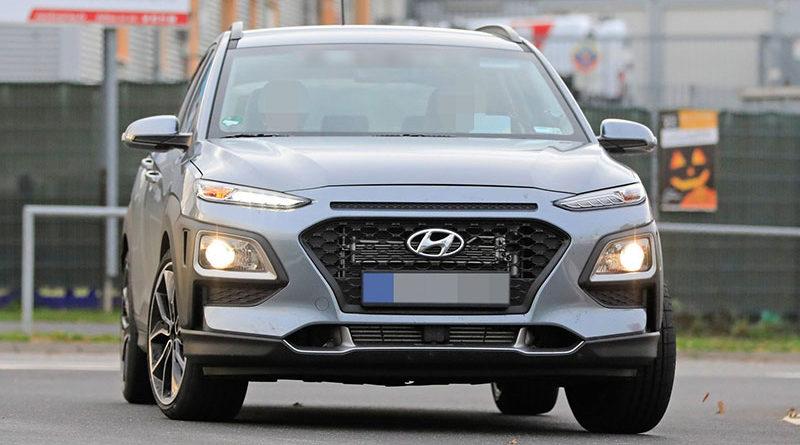 На трассе в Нюрбургринге замечен Hyundai Kona N