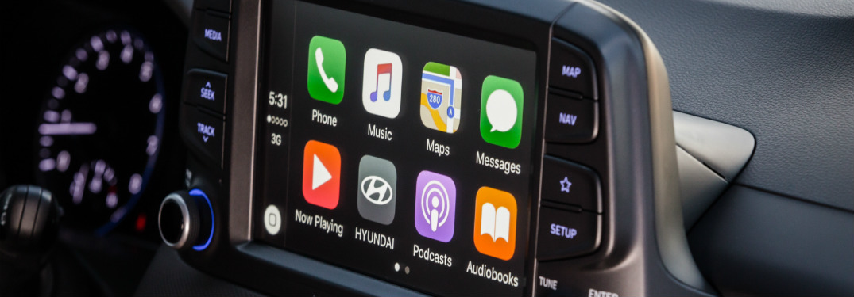 Информационно-развлекательная система Hyundai Kona