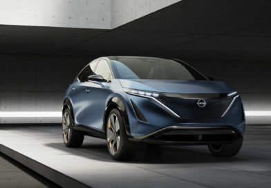 Nissan Ariya — обновлённый Leaf? Серьёзный конкурент Hyundai Kona