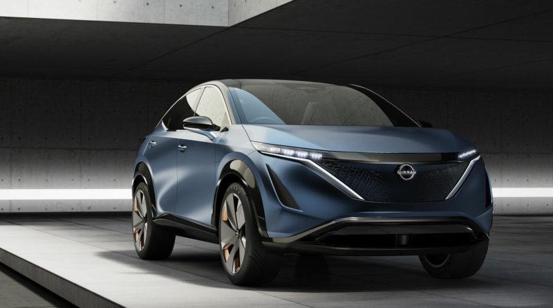 Nissan Ariya - новый электрокар от Ниссан