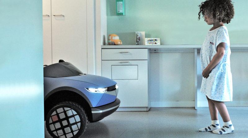 Hyundai создал детский электромобиль Hyundai 45 EV