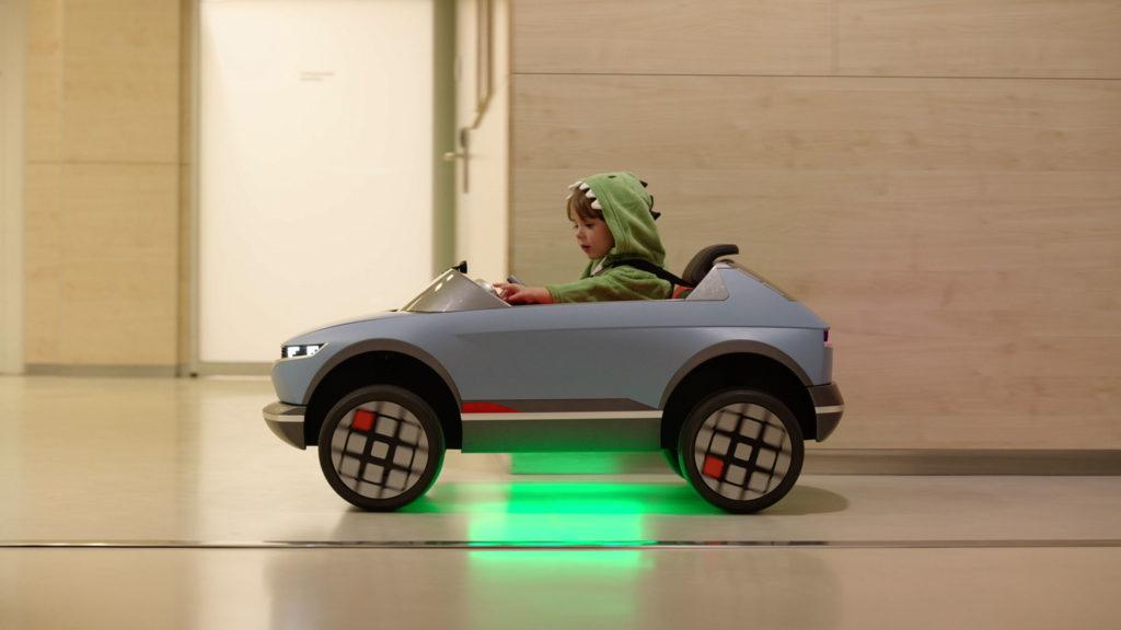 детский электромобиль Hyundai 45 EV
