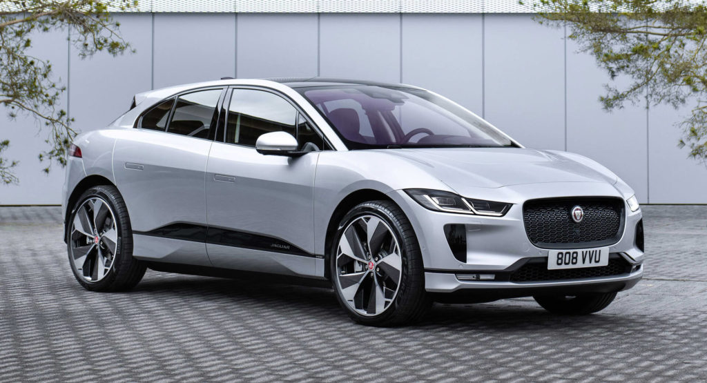 Цены на электромобили в Украине - Jaguar I-Pace