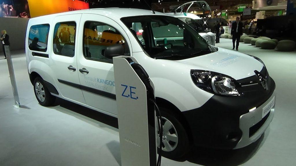 Цены на электромобили в Украине - Renault Kangoo Z.E.