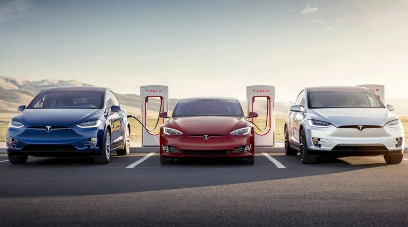 Tesla планирует запустить в Китае производство зарядных станций нового поколения