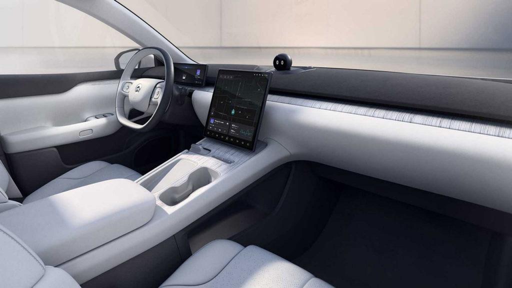 Новый электромобиль NIO ET7