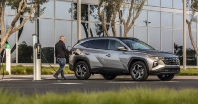Hyundai Tucson PHEV 2022 года официально предлагает 33 мили электрического запаса хода