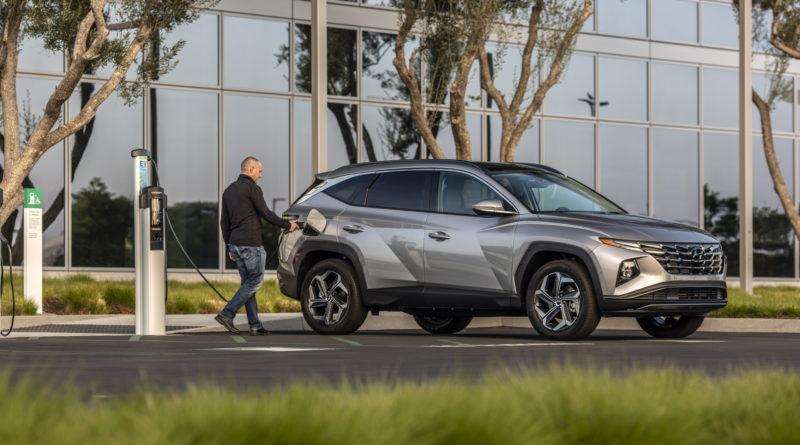 Hyundai Tucson PHEV 2022 года